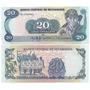 Billete Nicaragua De 20 Cordobas Del Año 1985 Sin Circular