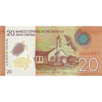 Nicaragua 20 Cordobas 2014 Polimero