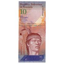 Argentvs * Venezuela Billete De 10 Bolivares 2007 - P#90a