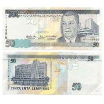Billete Honduras 50 Lempiras Año 2004 Sin Circular