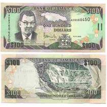 Billete Jamaica 100 Dolares Año 2006 Sin Circular