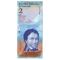 Argentvs * Venezuela Billete De 2 Bolivares 2007 - P#88a