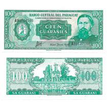 B D M / Paraguay / 100 Guaranies / 1952 / P#199b