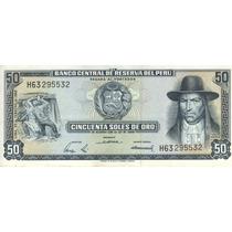 Perú Billete De 50 Soles De Oro 1968 Pick 94a - Sin Circular