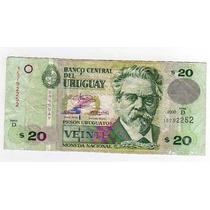 Billete 20 Pesos Uruguayos - Año 1994