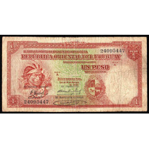 Billete Uruguay 1 Peso 1935 P#28c