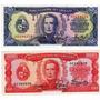 2 Billetes Uruguay 50 Y 100 Pesos Año 1967 Sin Circular-