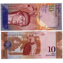 Hermoso Billete Venezuela 10 Bolivares Año 2007 Aguila Nuevo