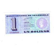 Venezuela Billete De 1 Bolivar De 1989 Sin Circular !!!!!!