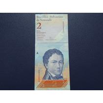 2007 - Venezuela - 2 Bolívares - Sin Circular