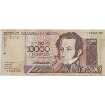 Venezuela 10000 Bolivares P92 2004