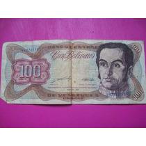 Billete 100 Bolivares