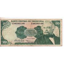 Venezuela 20 Bolivares Año 1995 Bm 2189
