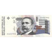 Argentina Billete De 10.000 Australes Serie B Año 1986
