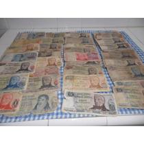 Billetes Argentinos Antiguos ( 81 Unidades)