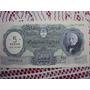 Billete $ 500 Moneda Nacional Resello $ 5 Ley 18188 Ref S1