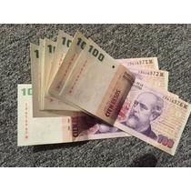 Lote De Billetes De 100 Pesos