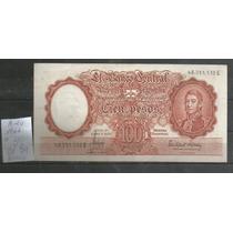 Argentina/ Billete De San Martin 100 Pesos Año 1966 Nuevo