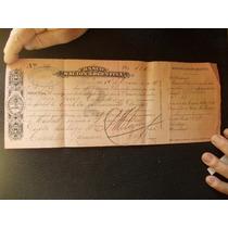 Pagare Banco Nación De Bolivar, Pcia Bs As. Año 1926