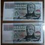 Lote 5 - 2 Billetes Correlativos De $ 100.000 Nuevos