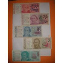 Lote De Billetes Antiguos Argentinos Australes