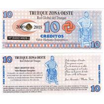 Bono 10 Creditos Trueque Zona Oeste Unc!