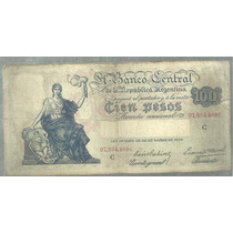 Argentina Progreso 100 Pesos Bot 1896 Mb
