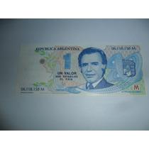 Billete Sin Circular$1 Carlos Saúl Menem Político Y Abogado