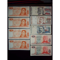 Billetes Argentinos / Lote De Billetes/algunos Sin Circula