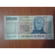 Billete 1.000.000 Pesos Ley Serie B