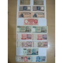 16 Billetes Argentina - Gran Oportunidad - Imperdibles!!!