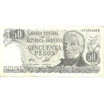 Billete 50 Pesos Cincuenta Argentina Serie B