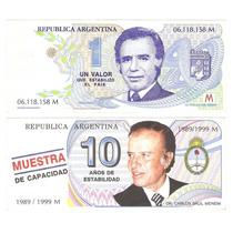 Billetes Menen Truchos 2 Diferentes