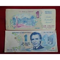 Billete Menem Trucho 1989/1995