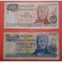1000, 5000 Pesos Series H Y B