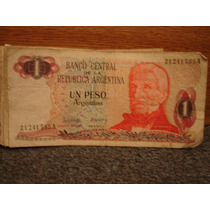 Billetes Antiguos De 1 Un Peso Argentino Lote De 42