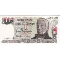 Billetes $ 10 Argentinos Nuevos