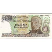 Lote Billetes 50 Pesos Argentinos Nuevos