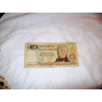 Billete 50 Pesos Banco Central De La Republica Argentin