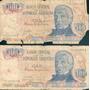 Billetes Cien Pesos Argentinos San Martín Serie A Y B