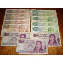 Billetes De Argentina - Muy Buena Calidad.