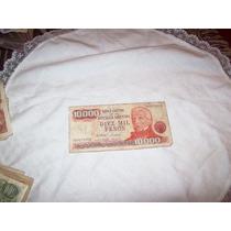 Billete 10000 Pesos Banco Central De La Republica Argentin