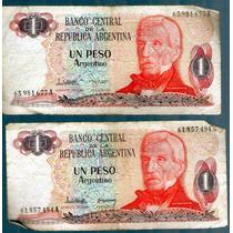 Billete 1 Un Peso Argentino