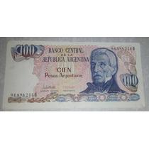 Billete 100 Pesos Argentinos