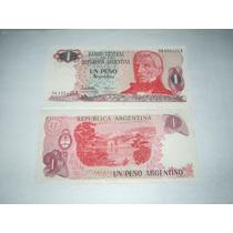 1 Peso Argentino S/c..