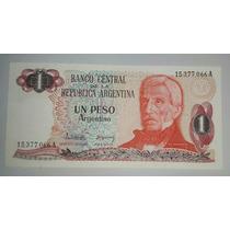 Billete Un Peso Argentino Serie A