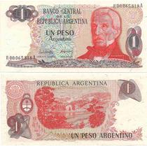 Billete 1 Peso Argentino Bottero 2603 Reposicion Oferta