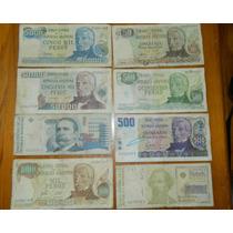 Billetes Argentinos Antiguos Coleccion Gran Cantidad
