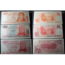 Lote 8 Billetes Antiguos