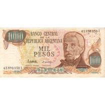 1000 Pesos Ley 18.188 Bottero